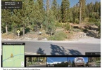 Google Maps Street View of 2 36 Acre Lot as 20070 Lincoln Hwy EchoLakeCA