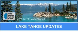 Tahoe Regional Planning Agency News Update