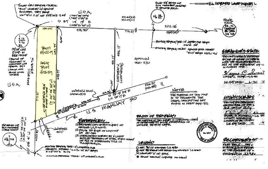2.36 Acres Survey Map